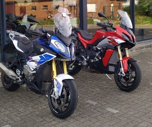 Test niewe BMW S1000XR